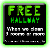 FREE Hallway Carpet Cleaning Coupon