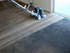 Grossbusters - Rotovac Carpet Cleaning Before and After