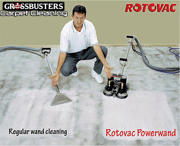 Grossbusters Carpet Cleaning Rotovac Comparison
